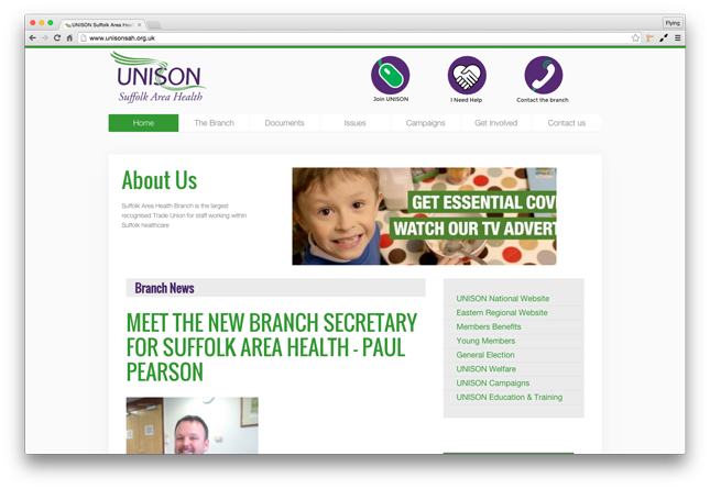 Unison Suffolk Area Health
